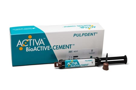 Cancer Survivor Can Smile Again Thanks to ACTIVA BioACTIVE-CEMENT from Pulpdent Corporation