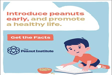 Updated Dietary Guidelines Recommend Including Nuts/Peanuts in Childhood Diets