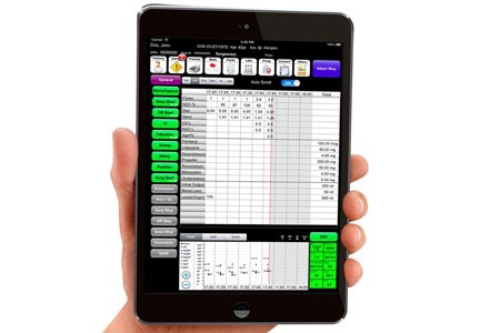 Anesthesia Touch on the iPad