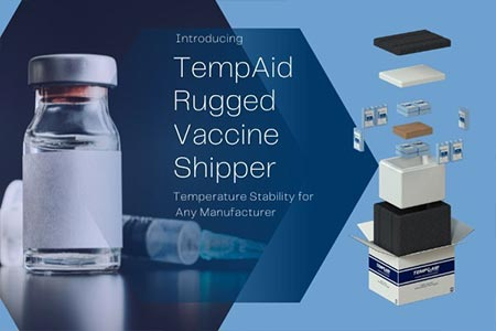 Introducing TempAid Rugged Vaccine Shipper